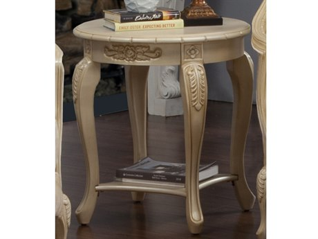 Benetti's Italia Furniture Bella 24'' Wide Round End Table BFBELLAENDTABLE
