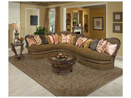 Benetti's Italia Bertina Sectional Living Room Set