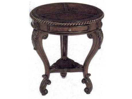 Benetti's Italia Brianza 25'' Round Accent Table