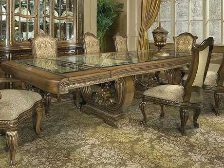 Benetti's Italia Camelia 129'' x 55'' Dining Table with Extension