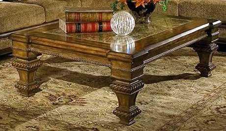 Benetti's Italia Furniture Cordicella 60'' x 42'' Rectangular Cocktail Table