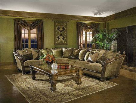 Benetti's Italia Furniture Cordicella 3 Piece Sectional (Left Arm Facing)