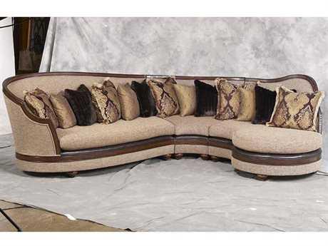 Benetti's Italia Furniture Donatella Sectional Sofa