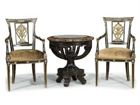 Benetti's Italia Furniture Palladio Living Room Accent Set