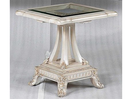 Benetti's Italia Furniture Perla 25'' Wide Square End Table BFPERLAENDTABLE