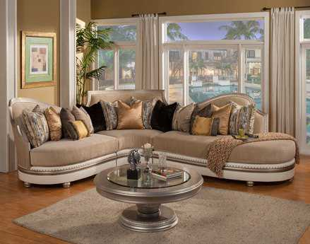 Benetti's Italia Furniture Ravenna Sectional Sofa