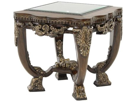 Benetti's Italia Sicily 28'' Wide Square End Table