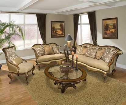 Benetti's Italia Furniture Venezia Living Room Set