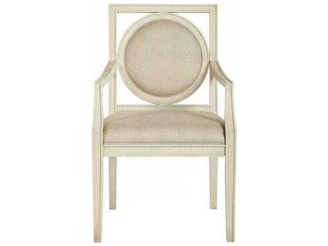 Bernhardt Salon Alabaster Arm Dining Chair