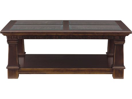 Bernhardt Pacific Canyon Coffee Bean 50'' Wide Rectangular Table