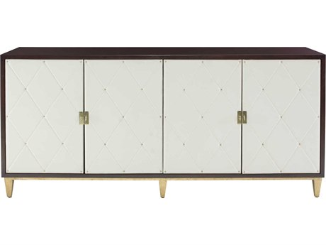 Bernhardt Jet Set White / Caviar Gold Buffet BH356132