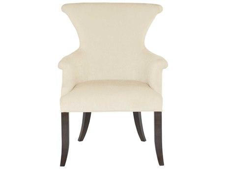 Bernhardt Jet Set White / Caviar Arm Dining Chair BH356542