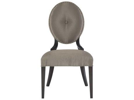 Bernhardt Jet Set Grey / Caviar Side Dining Chair BH356565