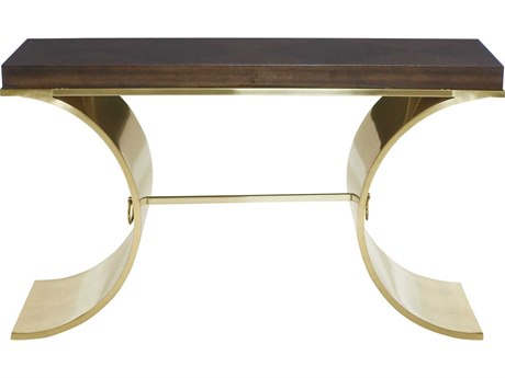 Bernhardt Jet Set Caviar 51'' Wide Rectangular Console Table