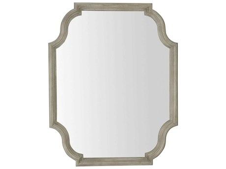 Bernhardt Marquesa Gray Cashmere Wall Mirror BH359321