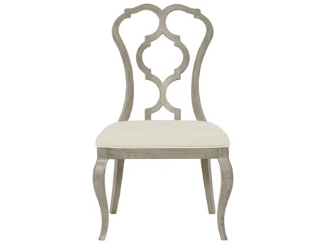 Bernhardt Marquesa Gray Cashmere Side Dining Chair BH359501