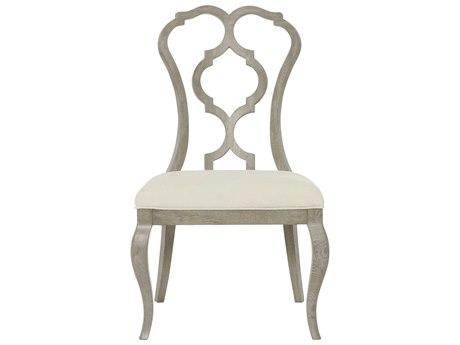 Bernhardt Marquesa Gray Cashmere Side Dining Chair