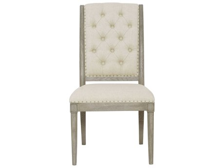 Bernhardt Marquesa Gray Cashmere Side Dining Chair BH359541
