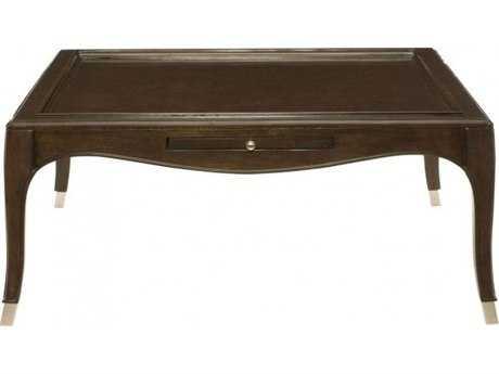 Bernhardt Miramont Dark Sable 46'' Wide Square Coffee Table