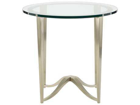 Bernhardt Miramont Argento 26'' Wide Round End Table