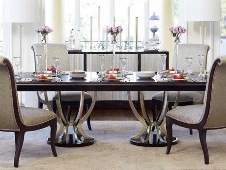 Bernhardt Miramont Argento / Dark Sable 85'' Wide Rectangular Dining Table BH360242