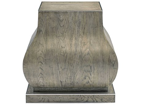 Bernhardt Montego Rustic Gray 26'' Wide Square End Table