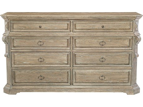 Bernhardt Campania Weathered Sand Double Dresser 8 Drawers and up