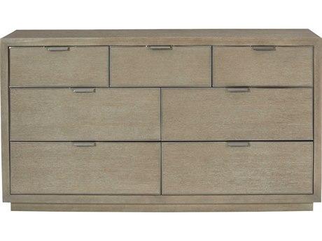 Bernhardt Mosaic Dark Taupe 7 Drawers Double Dresser BH373052
