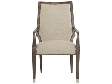Bernhardt Clarendon Arabica / Gray Arm Dining Chair BH377542