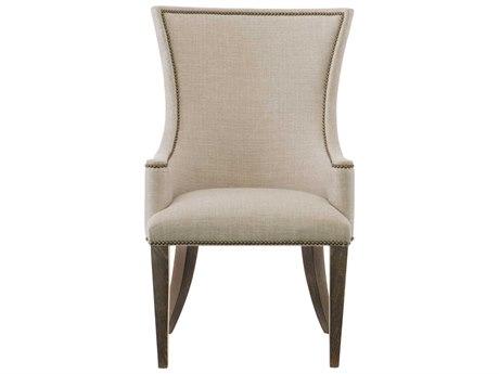 Bernhardt Clarendon Gray / Arabica Arm Dining Chair BH377548