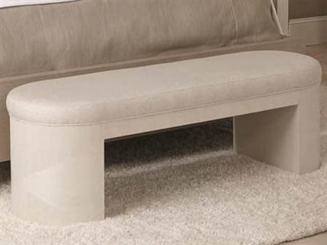 Bernhardt Axiom Linear White Accent Bench