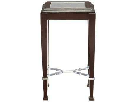Bernhardt Brentford Raven with Antique Mirror 14'' Wide Square End Table