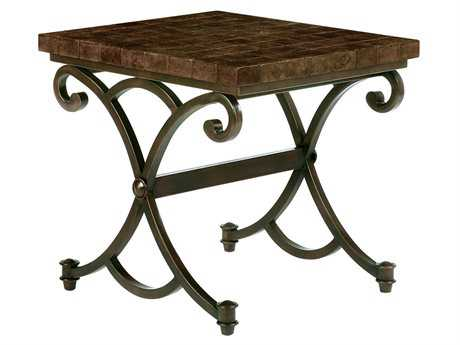 Bernhardt Mesa Verde 24 x 27 Rectangular End Table