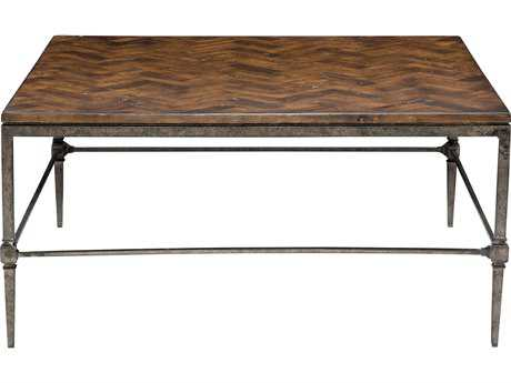Bernhardt Everett Blackened 40'' Wide Square Coffee Table