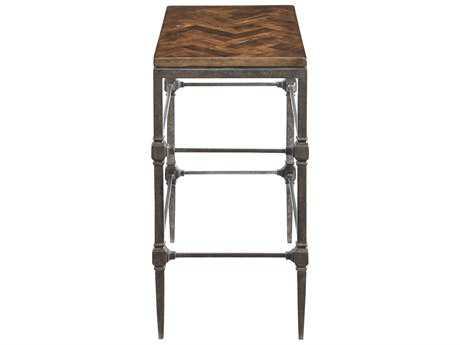 Bernhardt Everett Blackened 14''L x 34''W Rectangular End Table