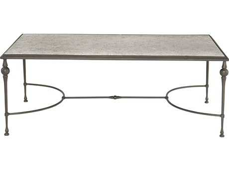 Bernhardt Tristan Champagne 52''L x 30''W Rectangular Coffee Table