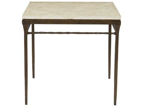Bernhardt Desmond Bronze 28'' Wide Square End Table