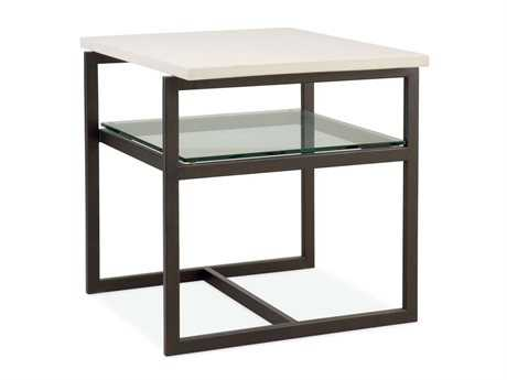 Bernhardt St Claire 24 x 27 Rectangular End Table