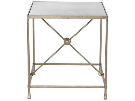 Bernhardt Rowley Soft Gold 25''L x 29''W Rectangular End Table