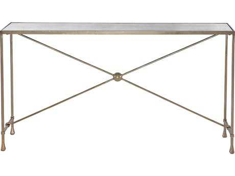 Bernhardt Rowley Soft Gold 59''L x 15''W Rectangular Console Table
