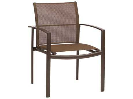 Avalon Cast Aluminum Stacking Arm Chair By Brown Jordan