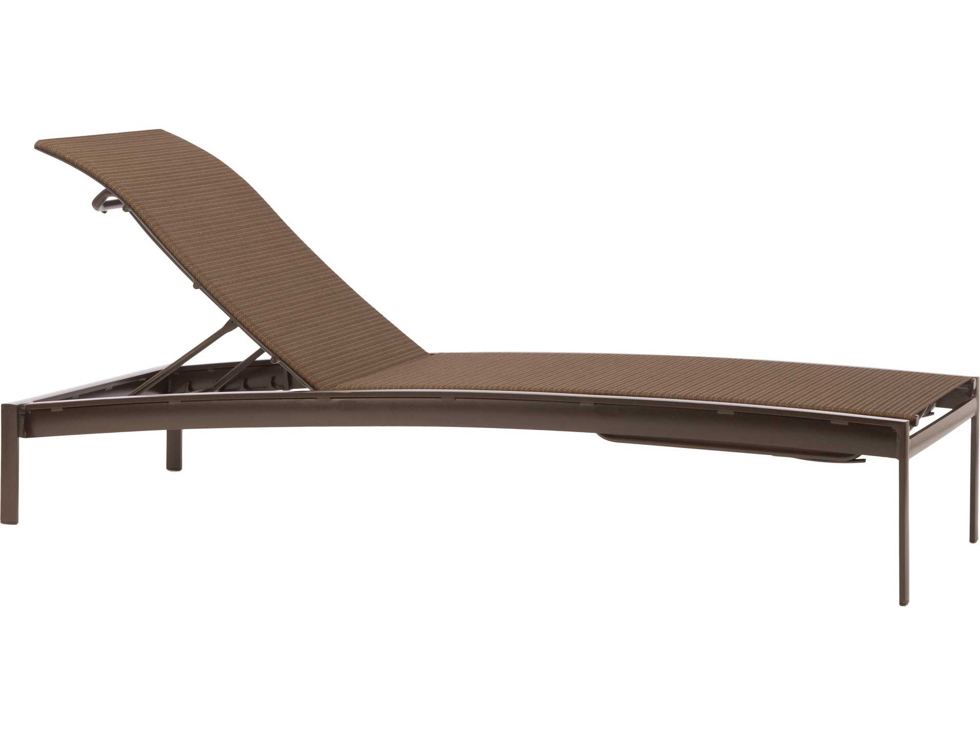 Brown jordan avalon cast aluminum stacking adjustable for Brown and jordan chaise lounge