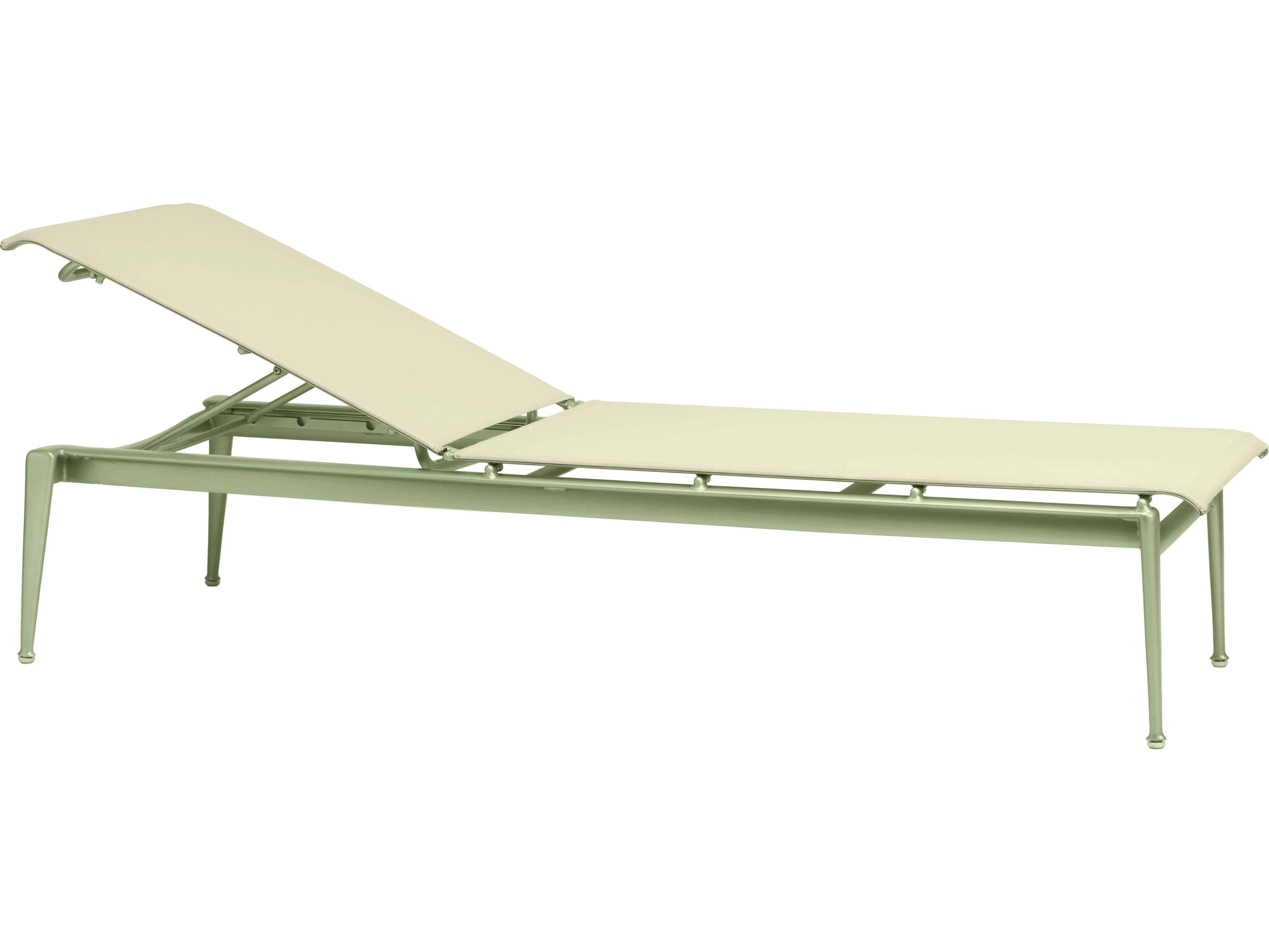 Brown jordan flight sling aluminum stacking adjustable for Brown jordan chaise lounge
