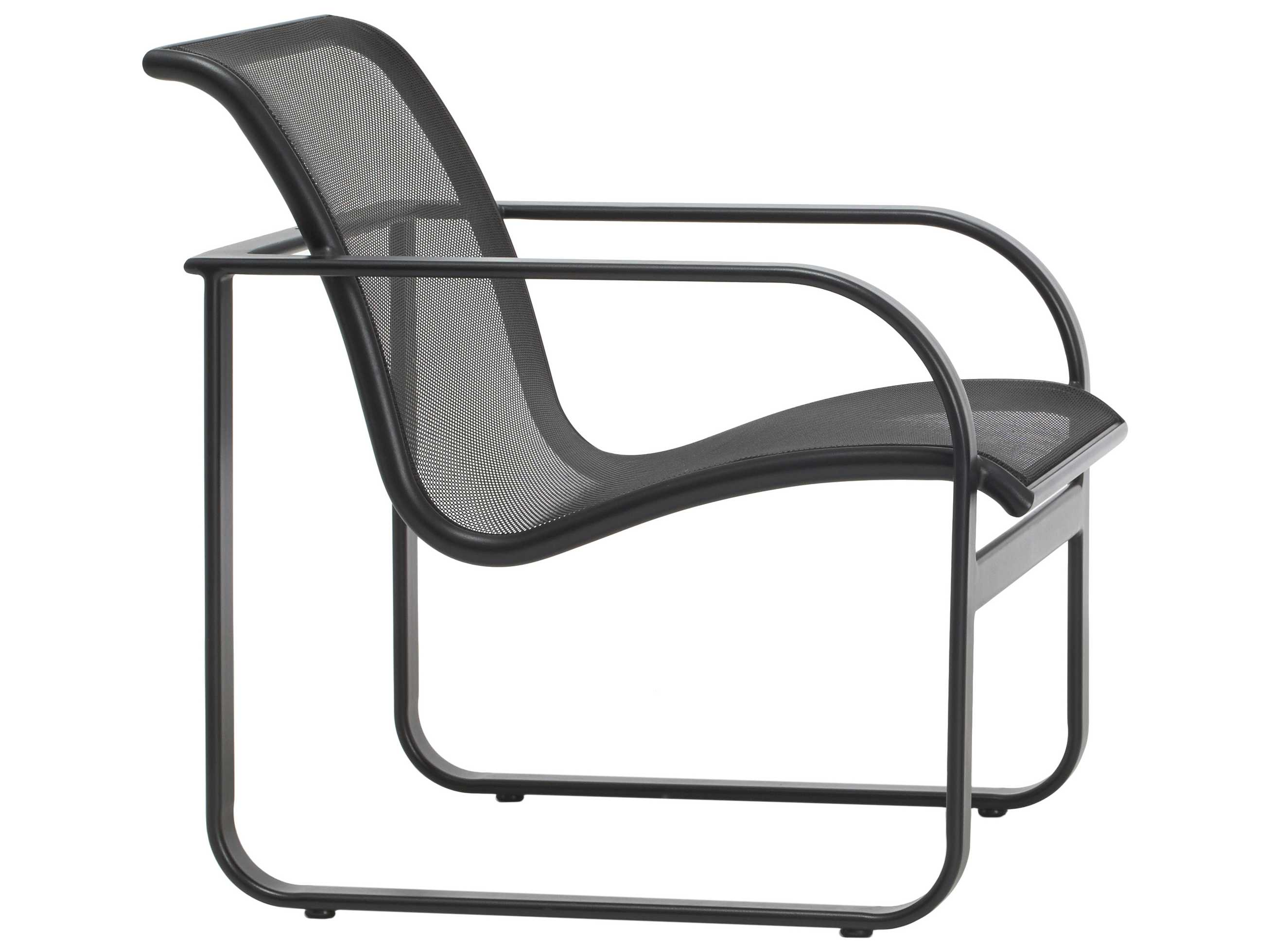 Brown Jordan Quantum Parabolic Aluminum Lounge Chair