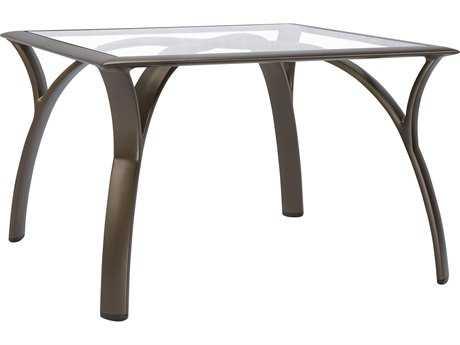 Brown Jordan Pasadena Aluminum 28 Square Corner Table