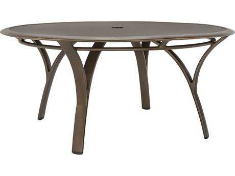 Brown Jordan Pasadena Aluminum 42 Round Chat Table