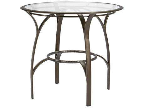 Brown Jordan Pasadena Aluminum 42 Round Bar Table