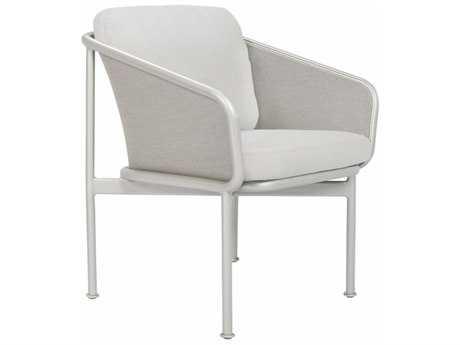 Brown Jordan Verge Aluminum Arm Chair with Loose Cushions