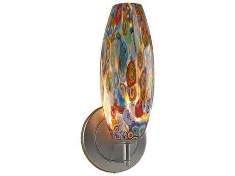 Bruck Lighting Ciro-1 Mosaic Glass Wall Sconce