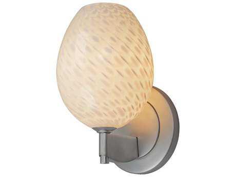 Bruck Lighting Bolero Dove Glass Wall Sconce